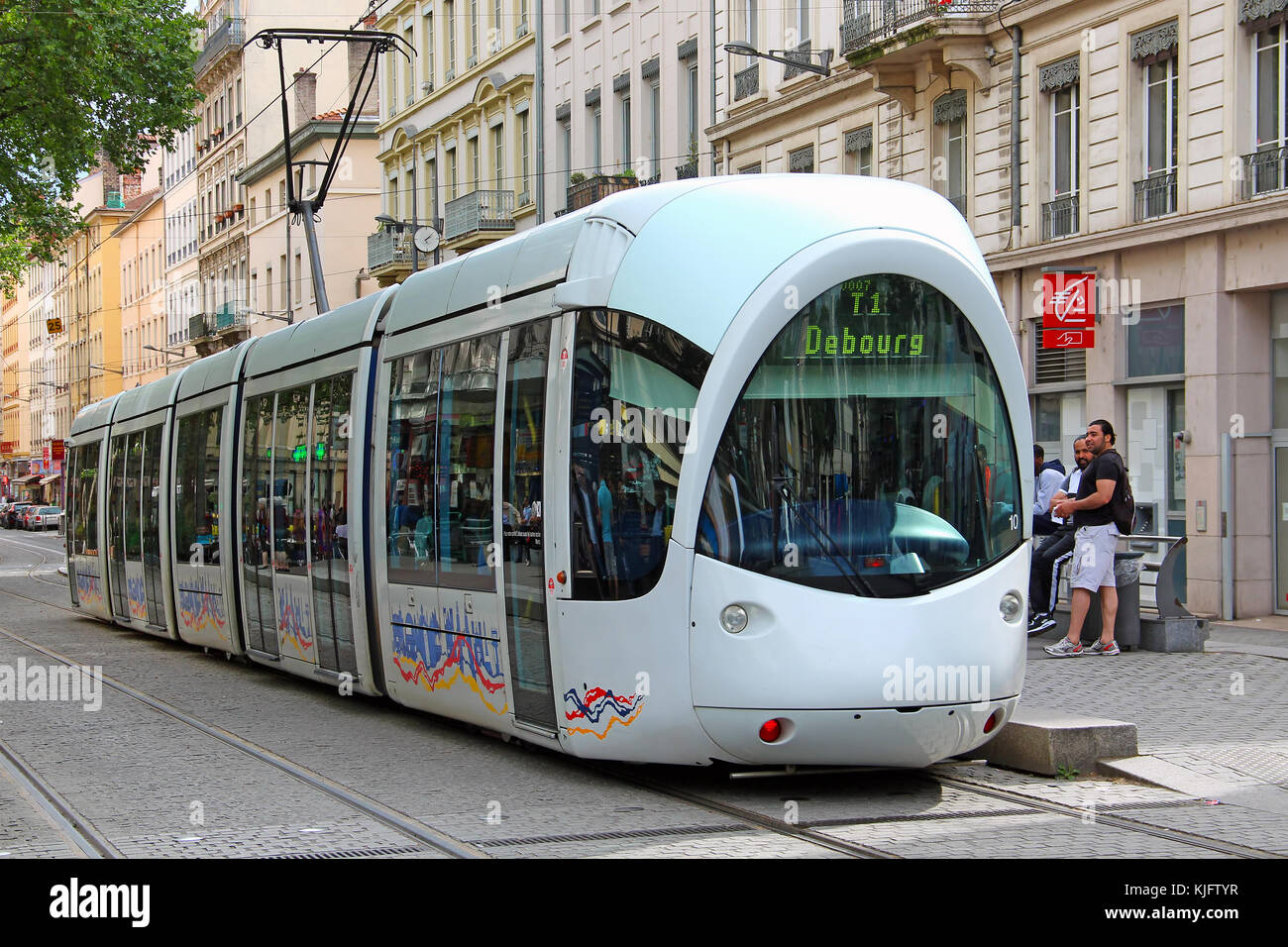 tram lyon france tramway stock photos tram lyon france tramway stock images alamy. Black Bedroom Furniture Sets. Home Design Ideas