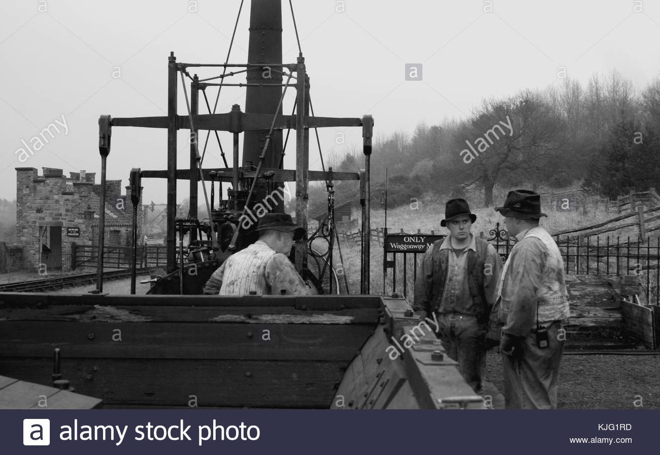Victorian Train Drivers - © Doc Braham; All Rights Reserved - Stock Image