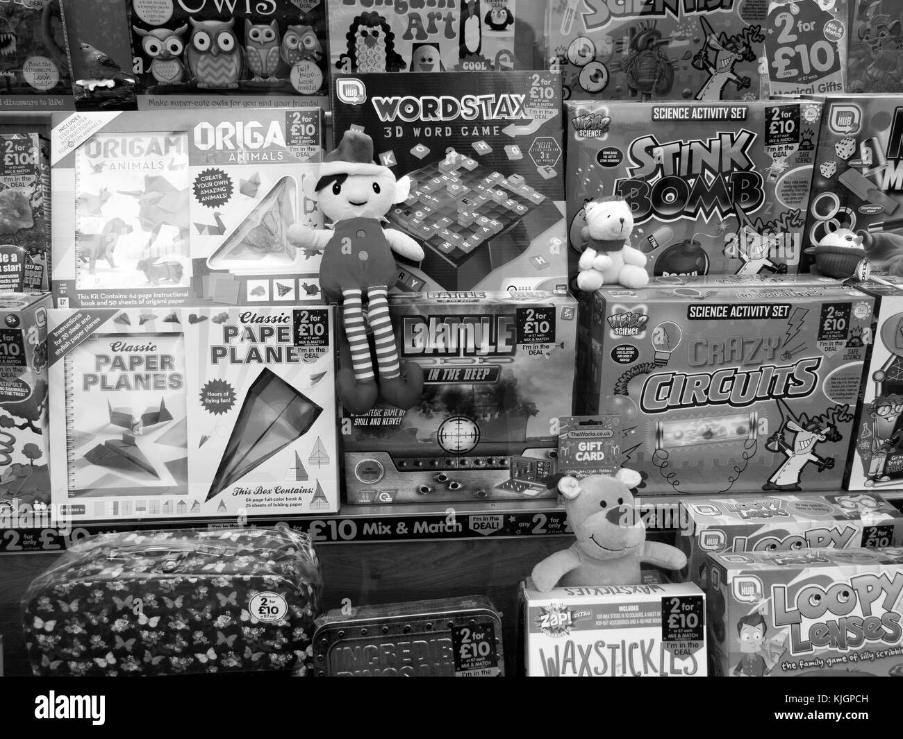 Shop Window Display Black and White Stock Photos & Images - Alamy