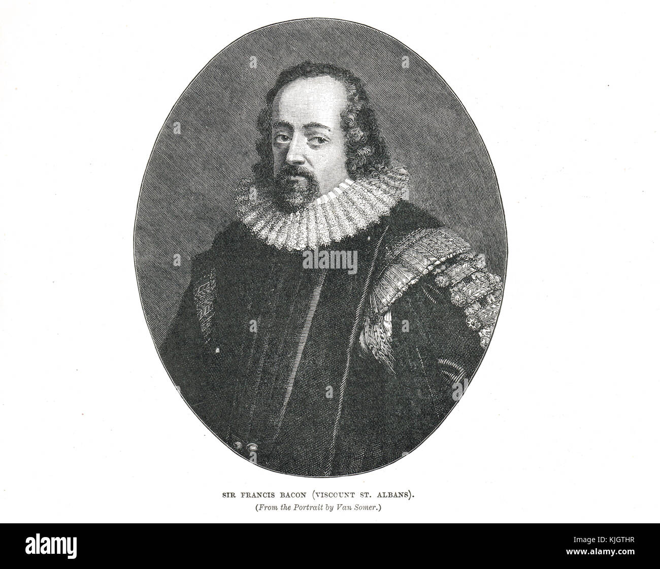 Francis Bacon, 1st Viscount St Albans - Stock Image