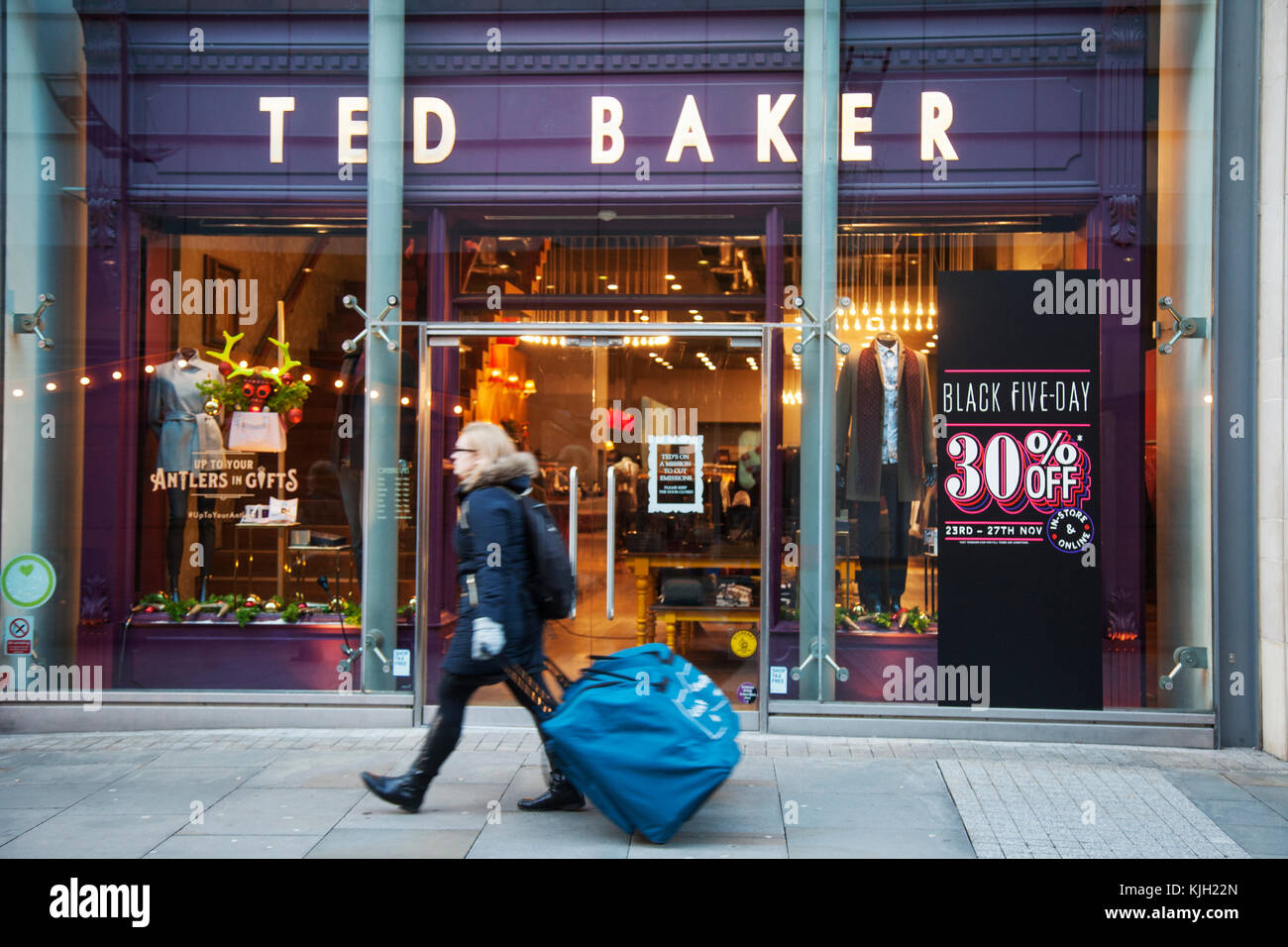 Ted Baker Store Stock Photos Amp Ted Baker Store Stock