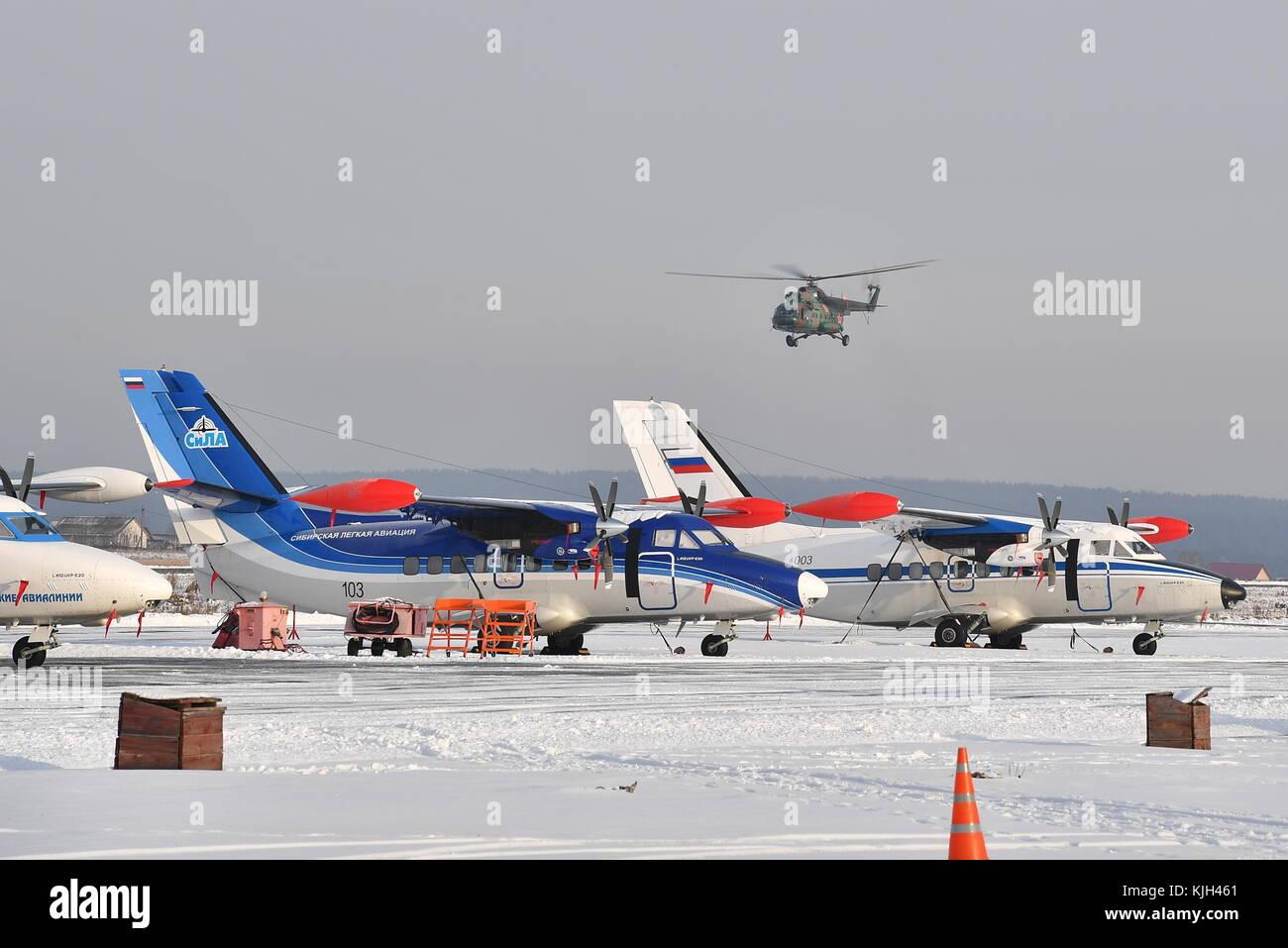 Russian Defense Minister visits Ural Civil Aviation Plant 13