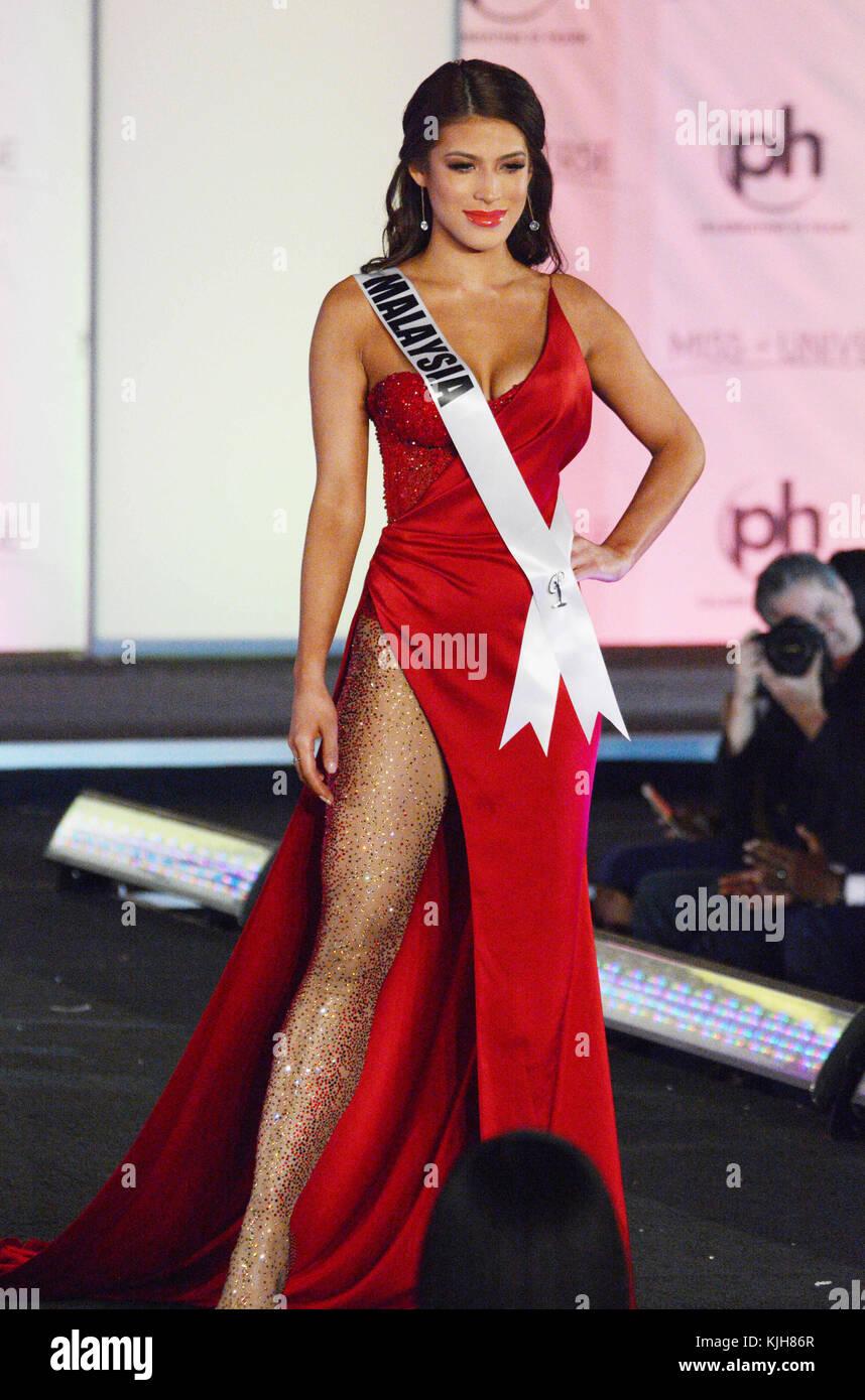 Las Vegas, Nevada, USA. 24th Nov, 2017. Miss Universe Malaysia Stock ...