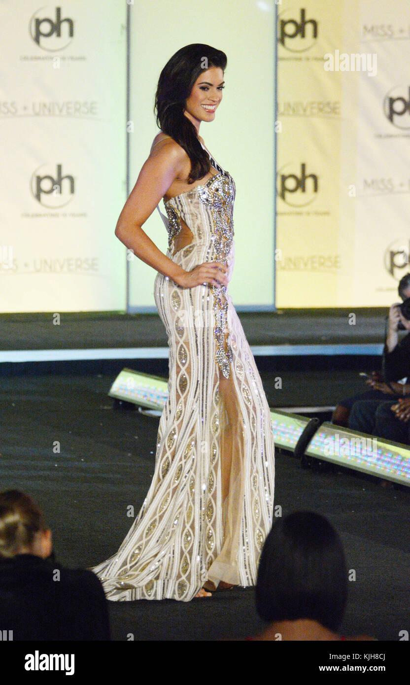 Las Vegas, Nevada, USA. 24th Nov, 2017. Miss Universe Paraguay ...