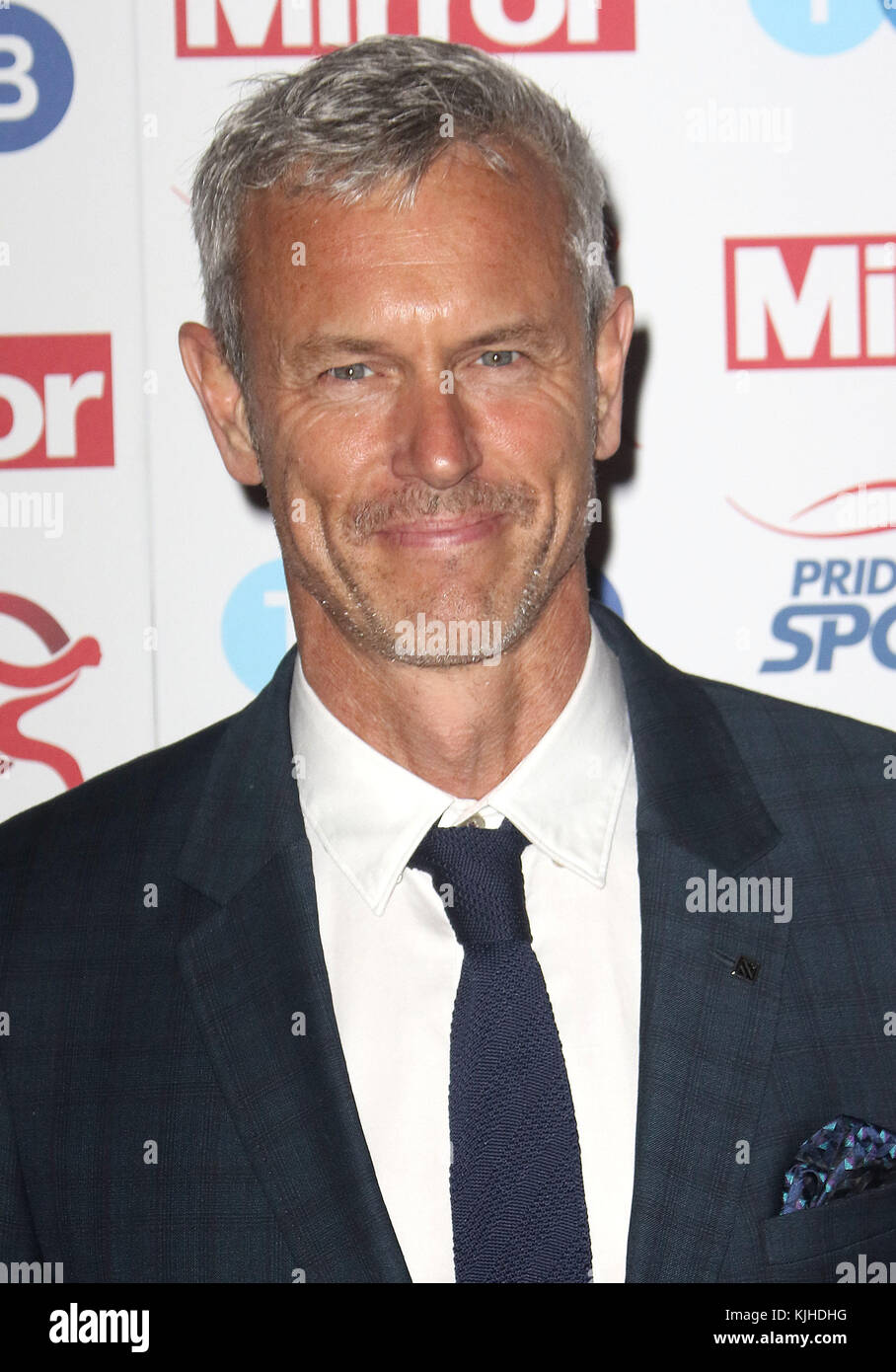 Nov 22, 2017 - Mark Foster attending Pride of Sport Awards 2017, Grosvenor House Hotel in London, England, UK - Stock Image