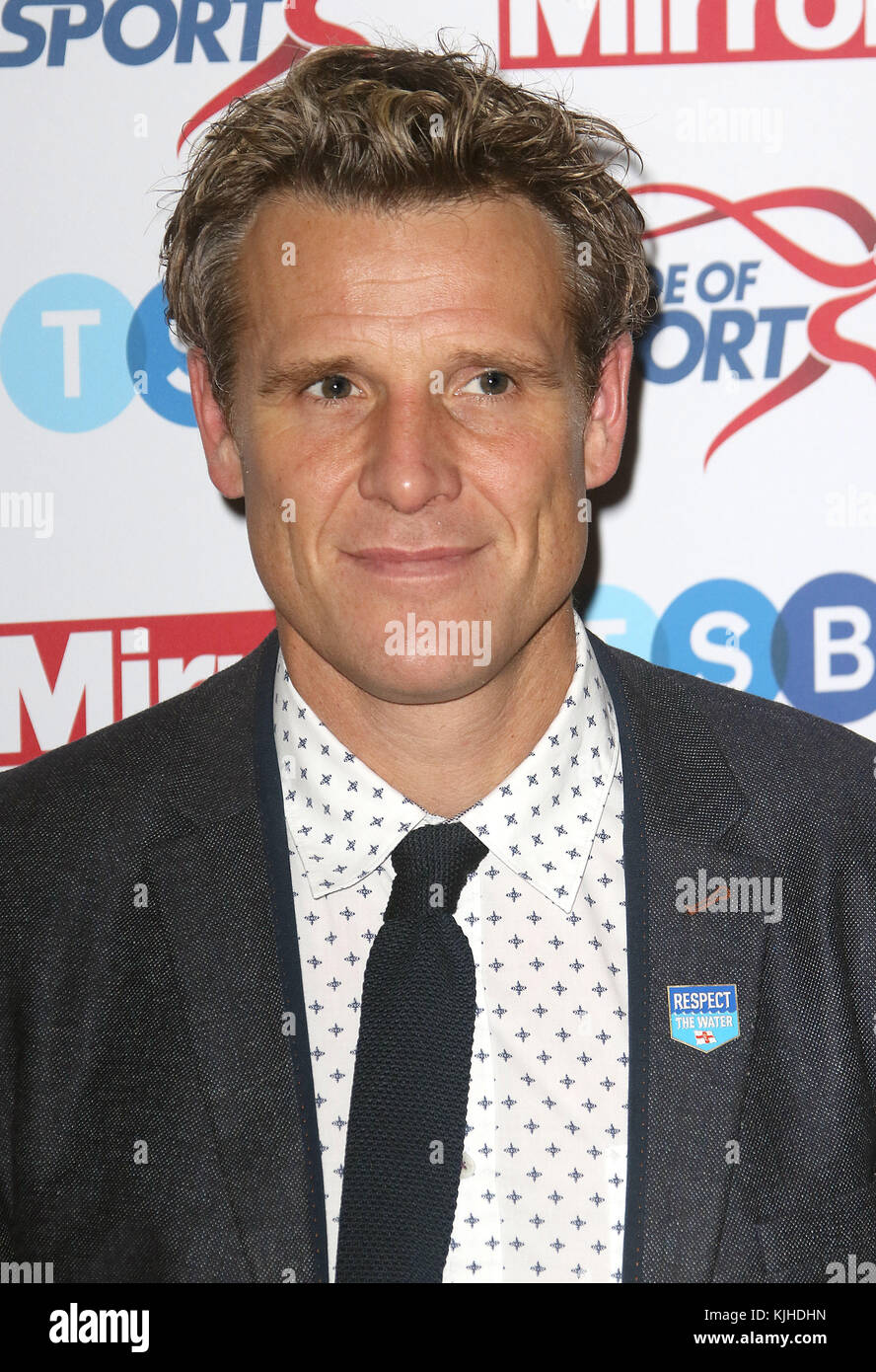 Nov 22, 2017 - James Cracknell attending Pride of Sport Awards 2017, Grosvenor House Hotel in London, England, UK - Stock Image