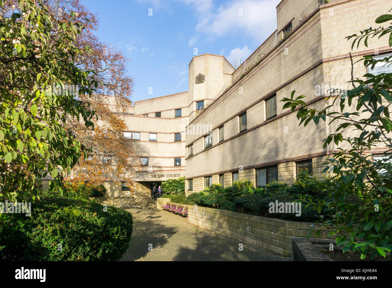 Croydon Law Courts - Stock Image