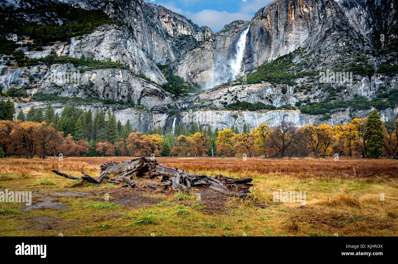 Landscape of Yosemite National Park, California - Stock Image