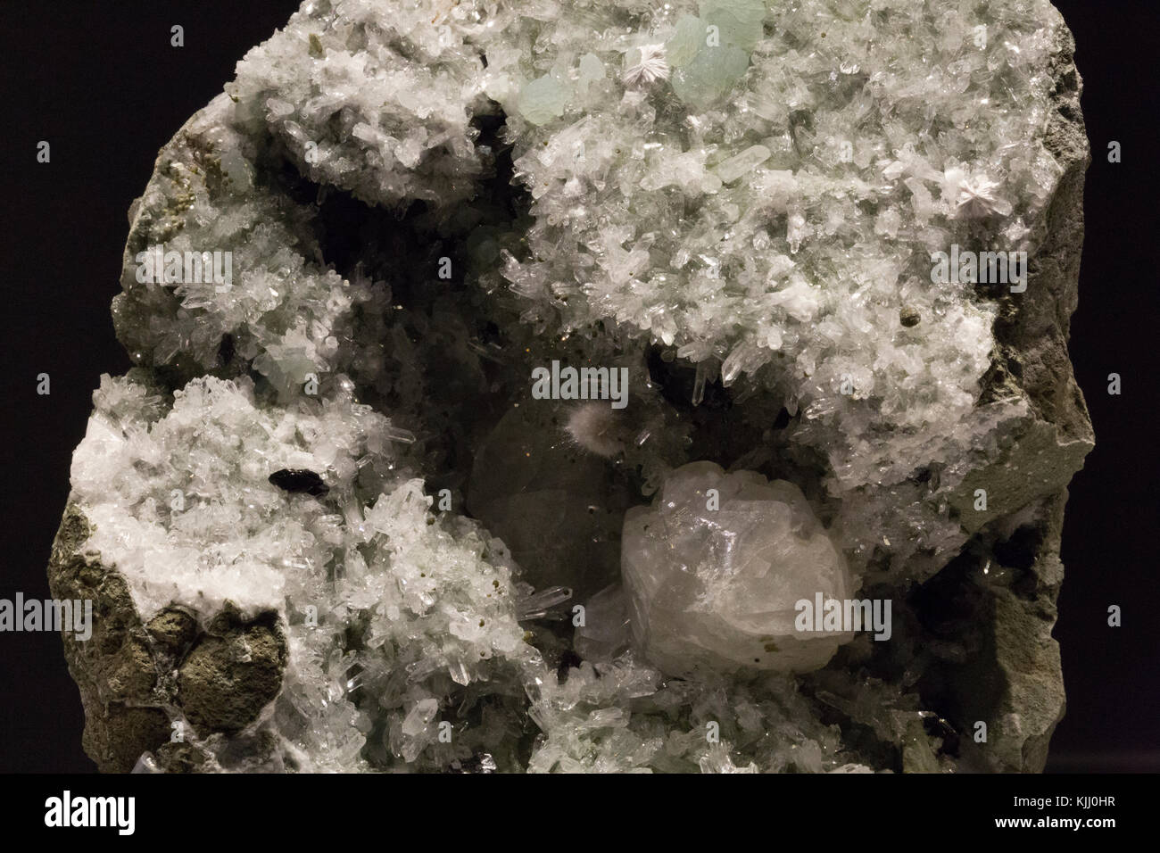 Crystal Rock at Melbourne Museum - Stock Image