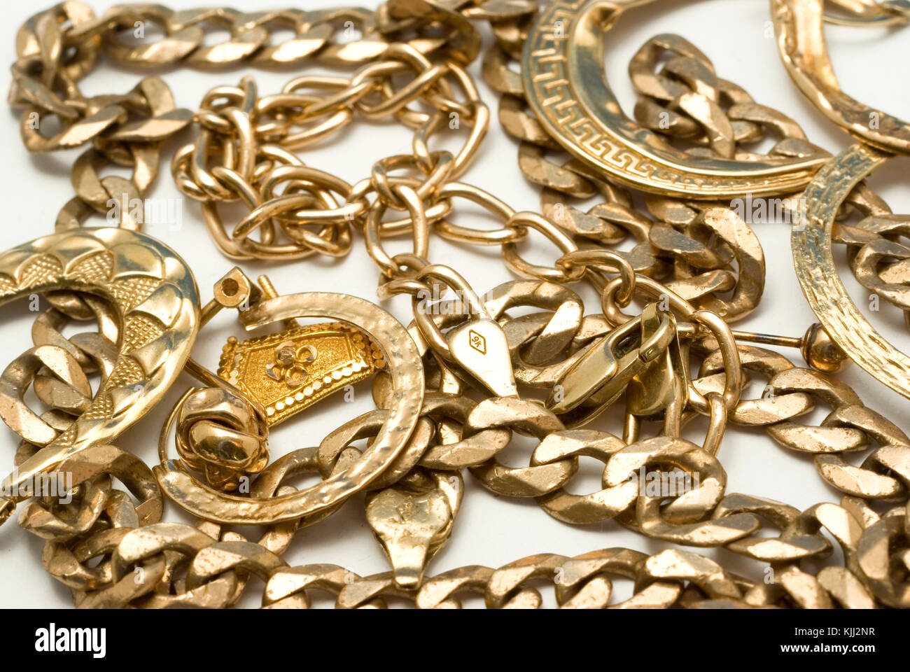 Scrap Gold - Stock Image