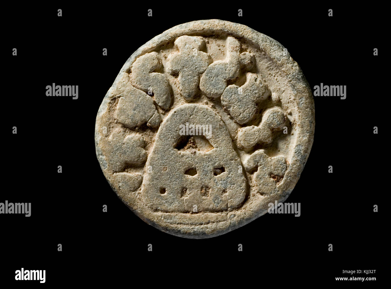 Ancient Indian Coin - Stock Image