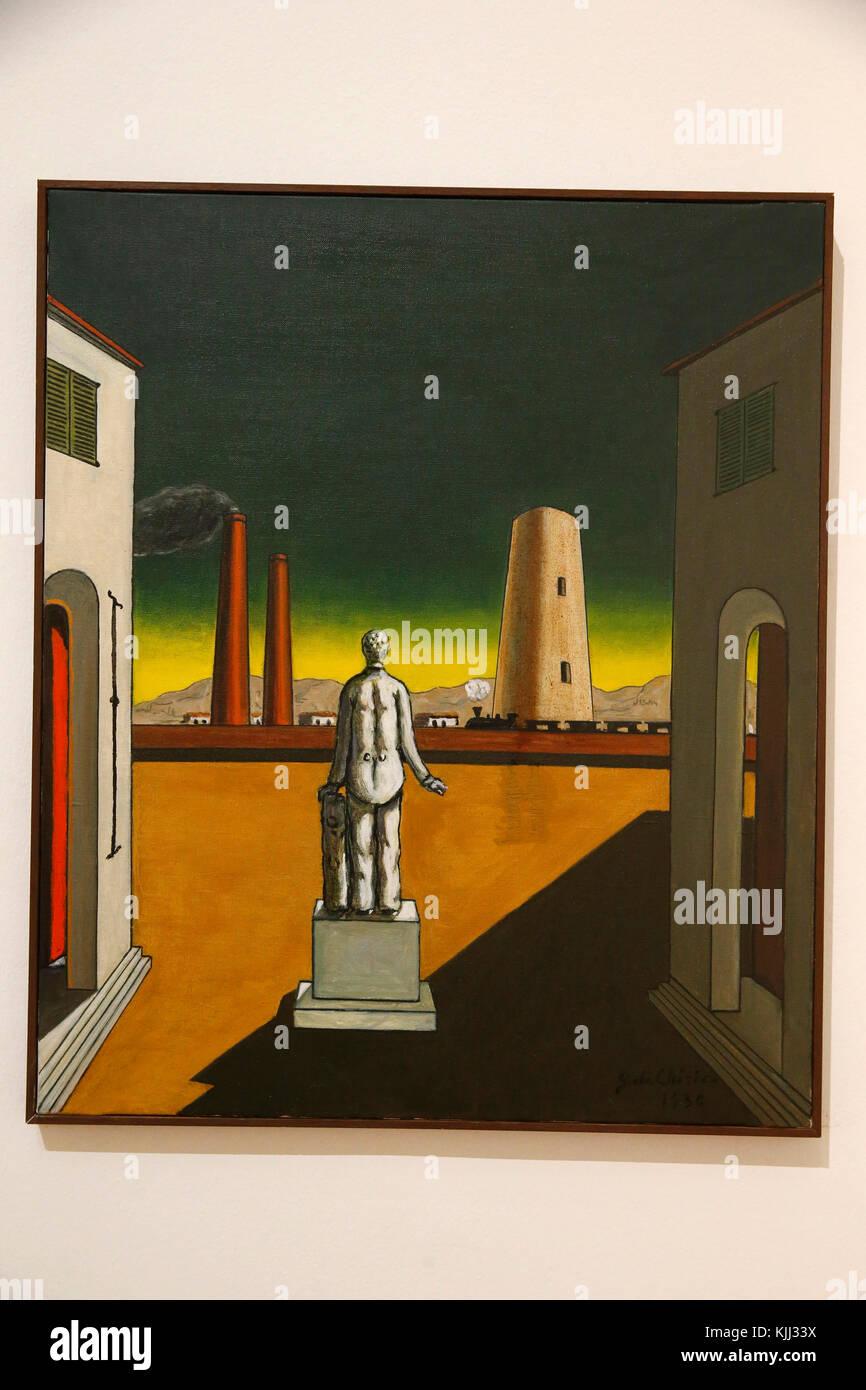Museum of Modern Art, Rome. Giorgio de Chirico. Presente e passato. 1936.  Cette image n'est pas tombŽe dans le Stock Photo