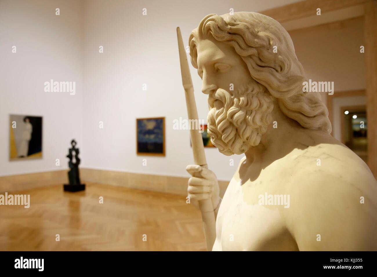 Museum of Modern Art, Rome. Rinaldo Rinaldi. Nettuno. 1844. Italy. - Stock Image
