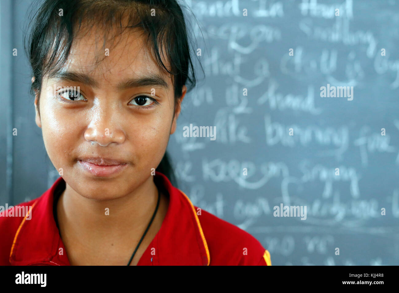 Center for ethnic minority girl run  by the Franciscan Missionaries of Mary. - Stock Image