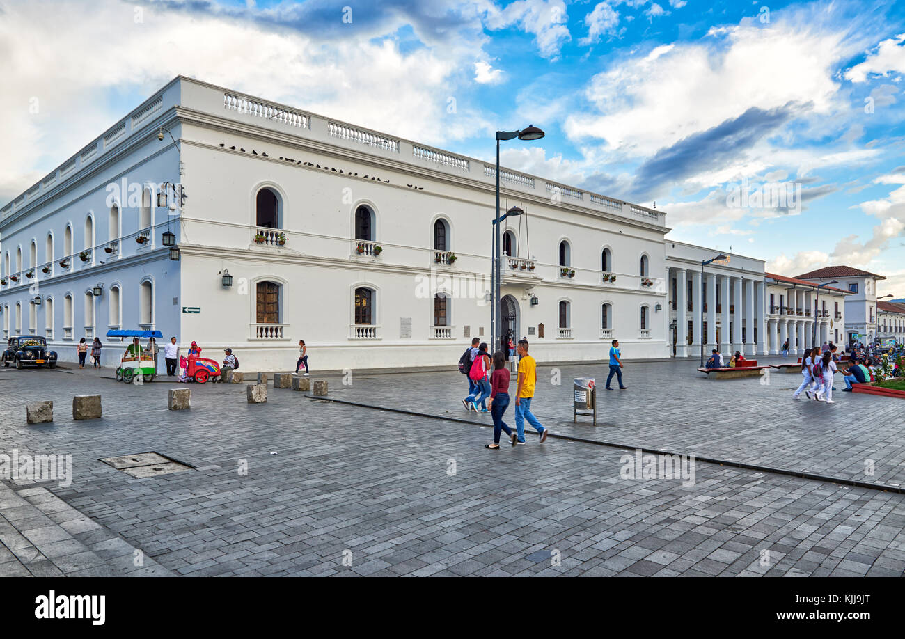 local government Alcaldia Municipal de Popayan, Popayan, Colombia, South America - Stock Image