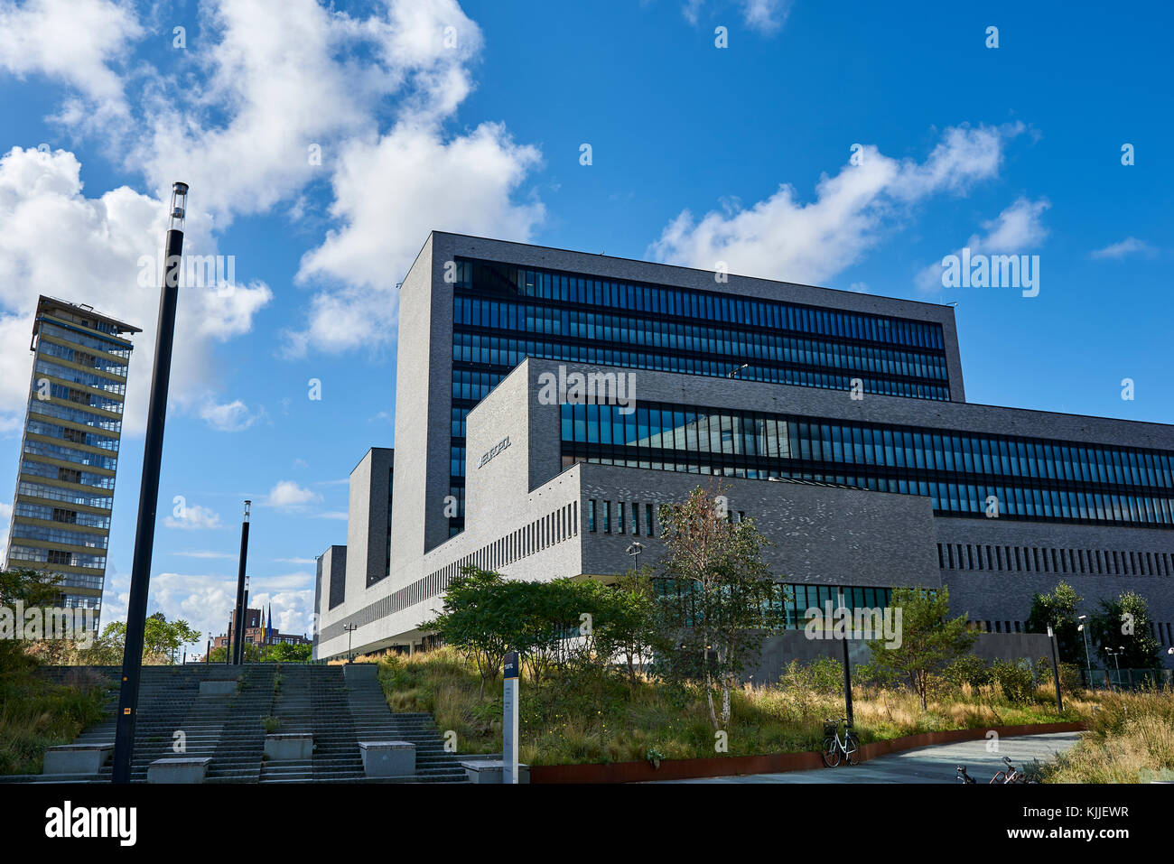 The office of Europol in The Hague, Netherlands. The law enforcement agency of the European Union - Stock Image