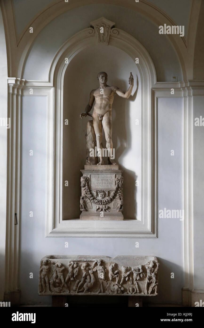 Corsini gallery, Rome. Italy. - Stock Image