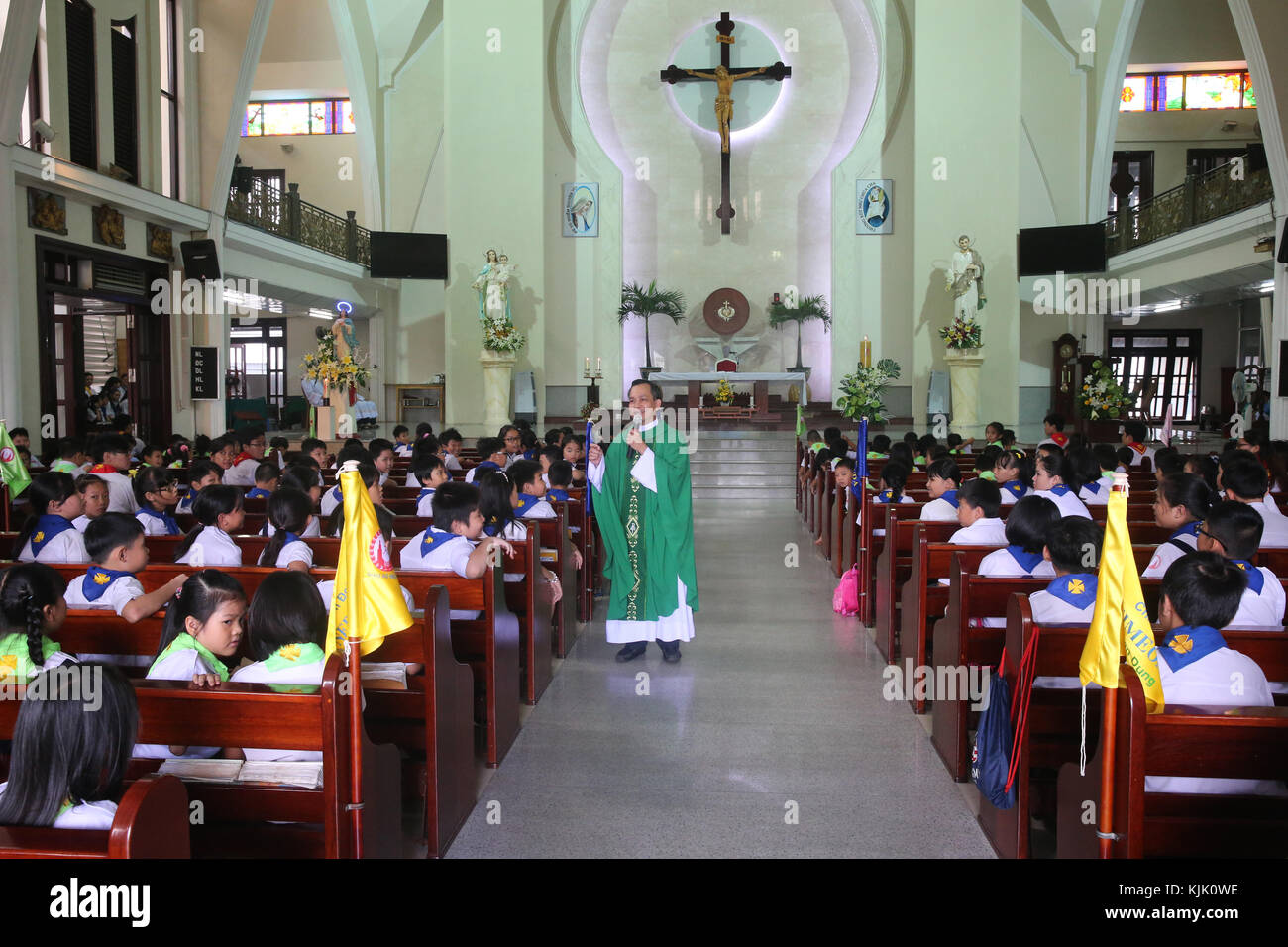 Catholic church  Liturgy of the Word with Children at Sunday