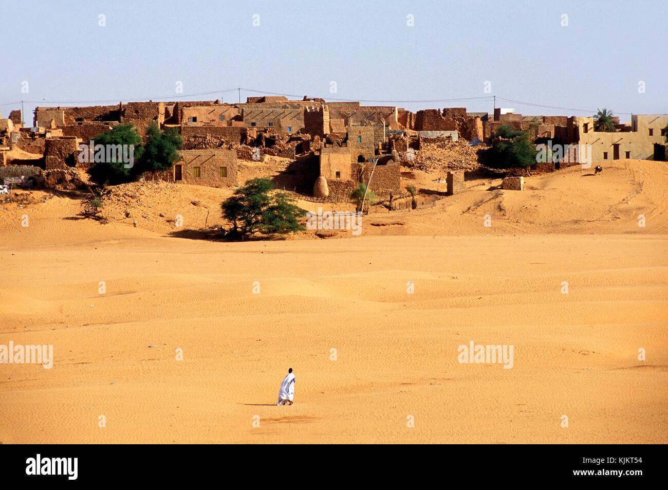 Chinguetti. Mauritania. - Stock Image