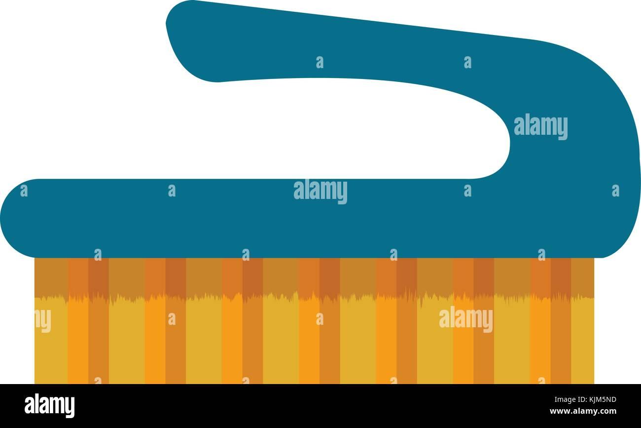handle brush cleaning isolated icon vector illustration design stock rh alamy com Clock Clip Art Towel Clip Art