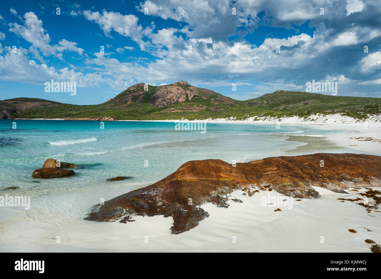 Thistle Cove in Cape Le Grand National Park. - Stock Image