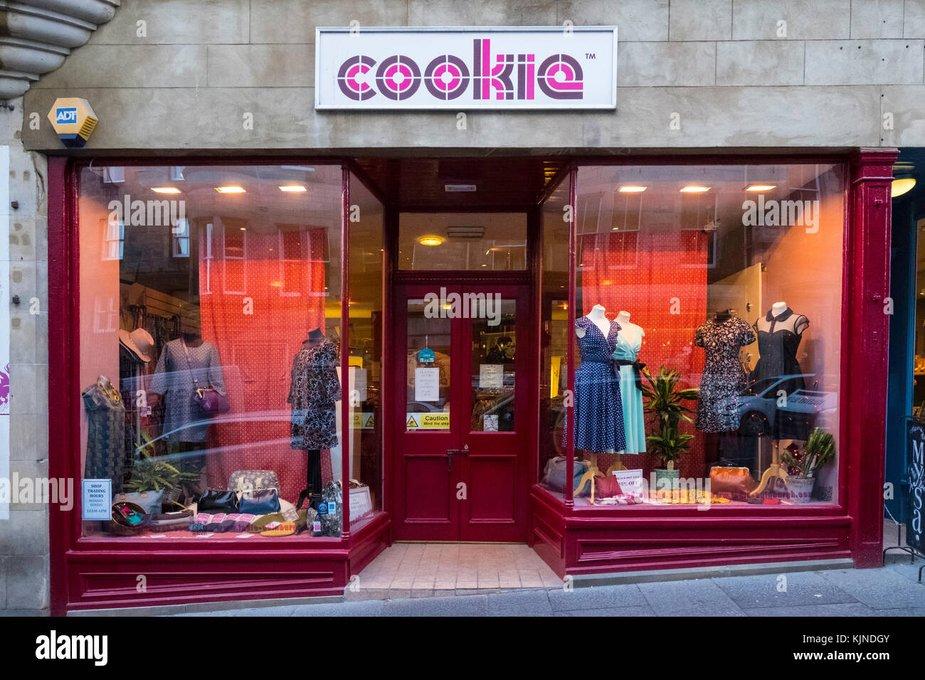 Cookies clothes store