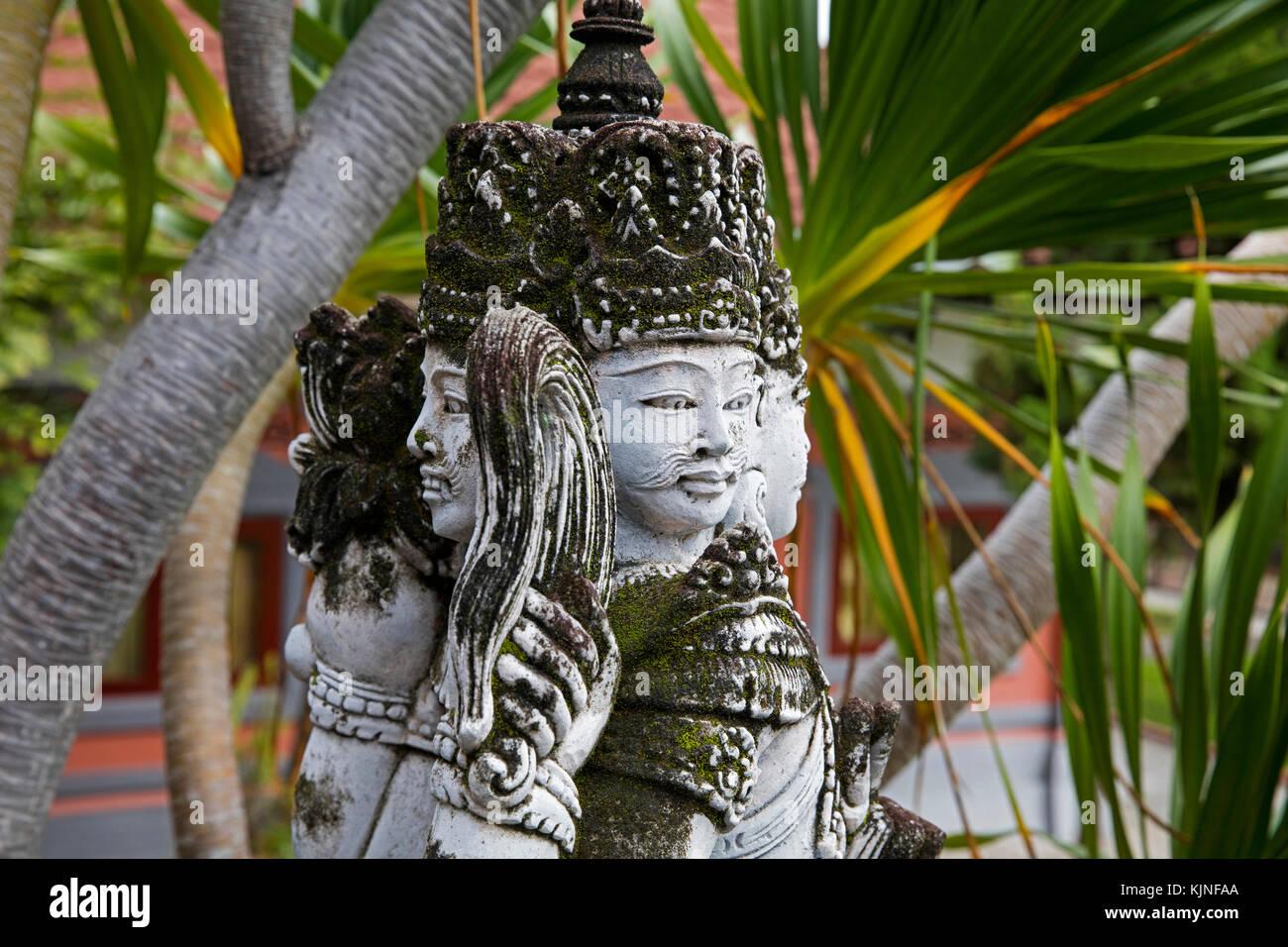 Brahmavihara-Arama / Vihara Buddha Banjar / Brahma Vihara Arama, buddhist Temple Monastery in the mountains near - Stock Image