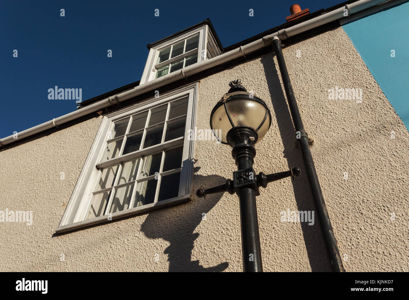 Street light in Weymouth - Stock Image