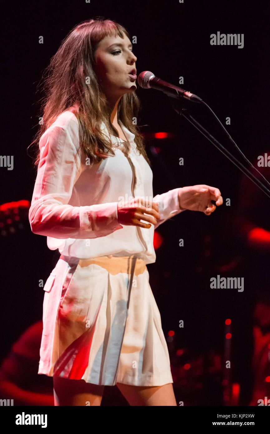 Brazilian Singer Mallu Magalhaes Performs Live At Tivoli Bbva In Lisbon Featuring Mallu Magalhaes Where Lisbon Lisboa Portugal When  Credit