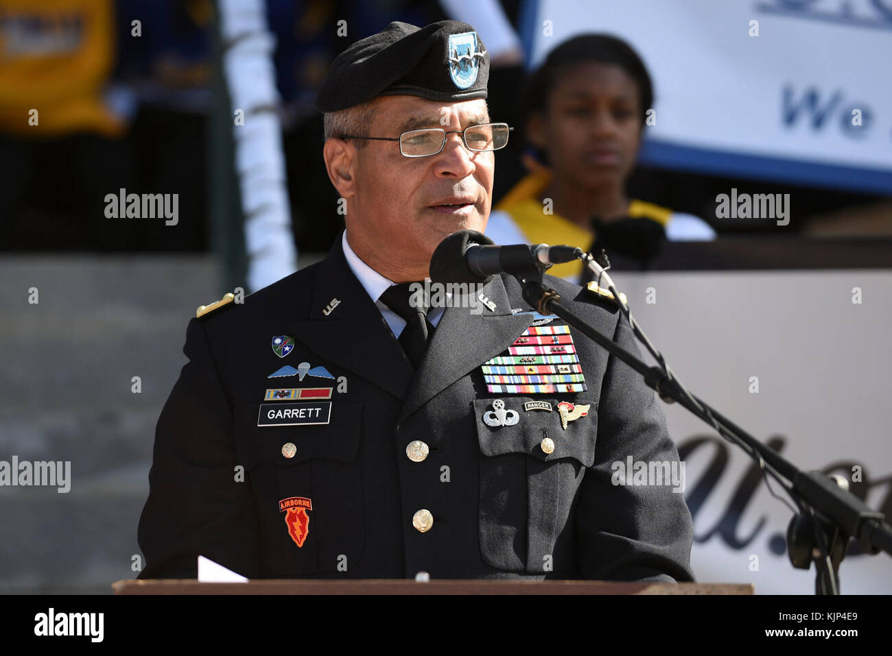 U.S. Army Lt. Gen. Michael Garrett, U.S. Army Central