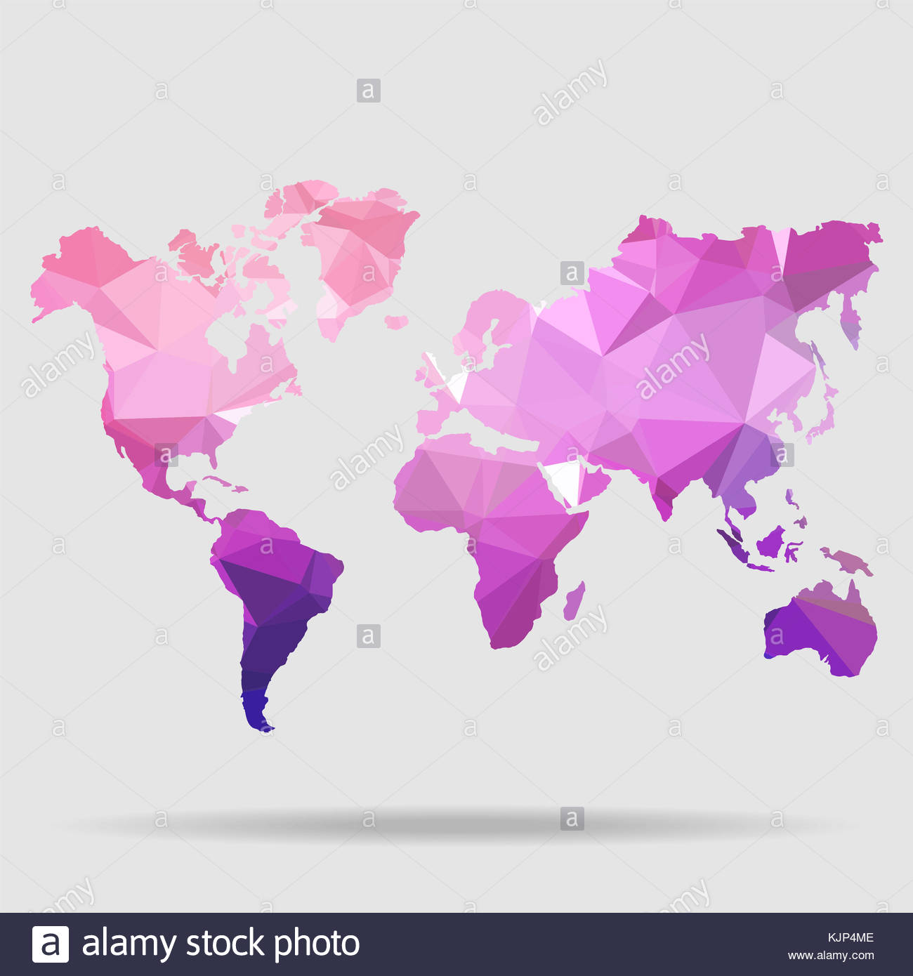 abstract world map vector illustration geometric structure in blue color for presentation booklet website and other design projects polygonal b