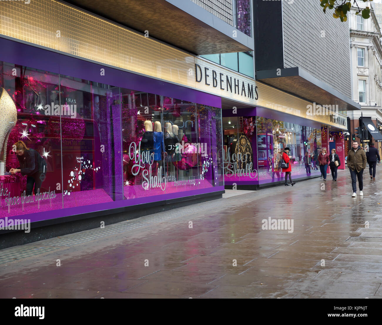 At The Disney Store In Oxford Street Stock Photos & At The