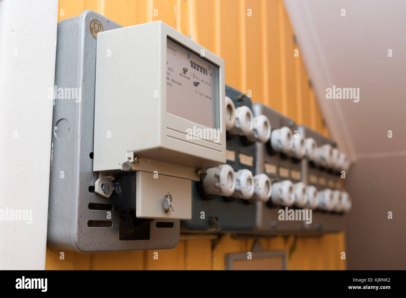 Fuses Stock Photos Images Alamy Old Style Air Conditioner Fuse Box House With Image