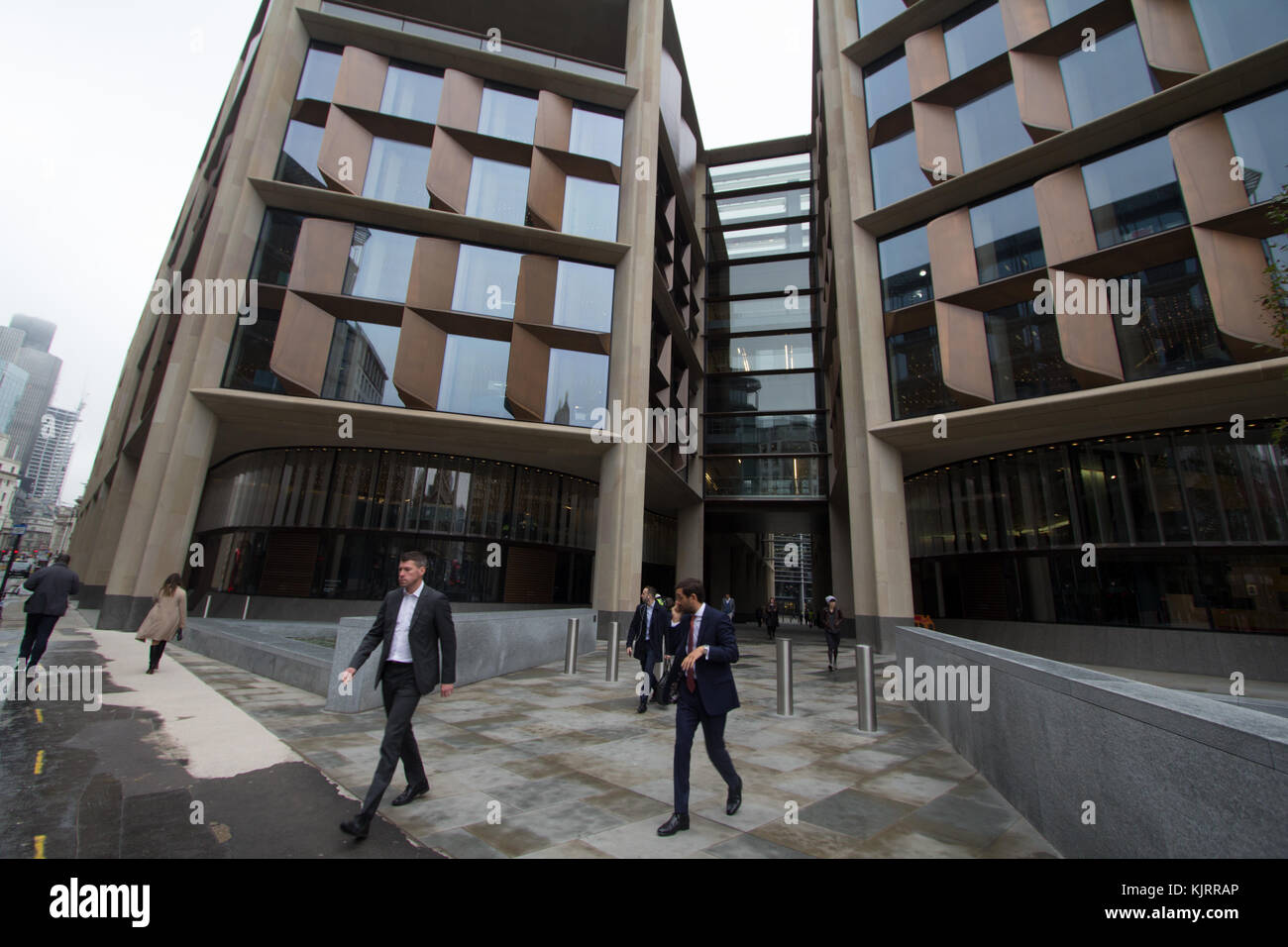 Bloomberg European headquarters in London, opened in 2017 - Stock Image