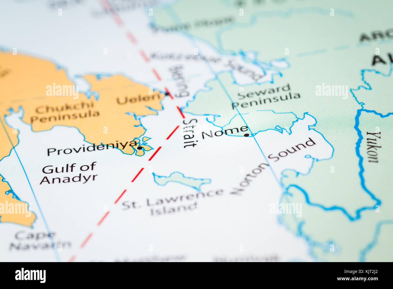 Close up of a world map with a section of alaska reaching out to close up of a world map with a section of alaska reaching out to russia gumiabroncs