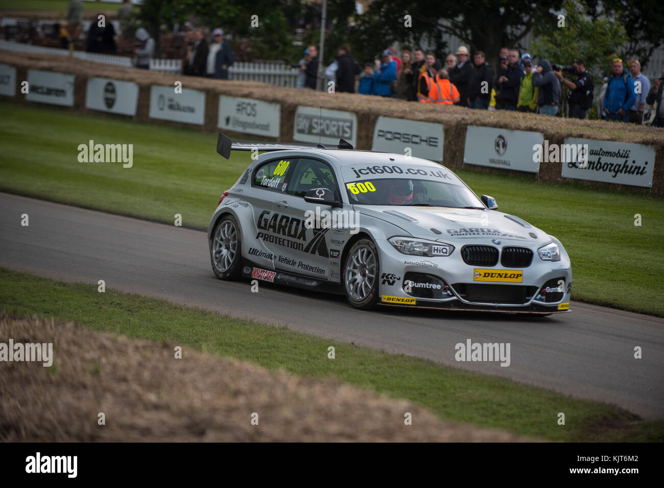 Event At the Festival of Speed Goodwood 2016 annual meeting of old and new Racing vehicles - Stock Image