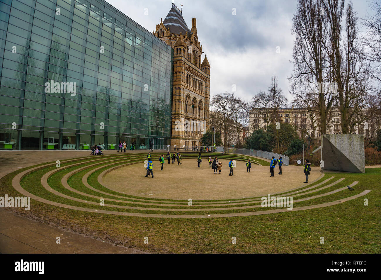 The Natural History Museum. Established in 1881, the museum houses 80 million items from around the world. London, - Stock Image
