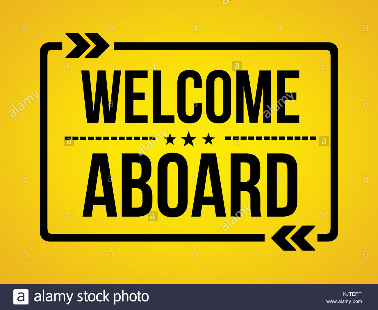 Welcome Aboard Wallpaper Message Stock Photo 166495612 Alamy
