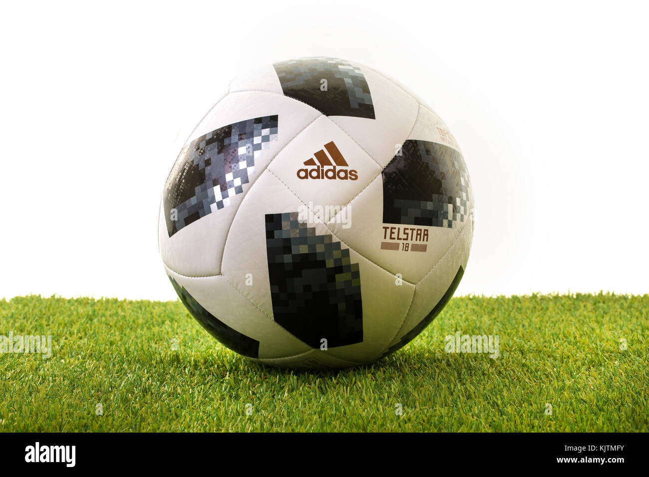 0b72b0d2951 Fifa World Cup 2018 Adidas Telstar Football Stock Photos   Fifa ...