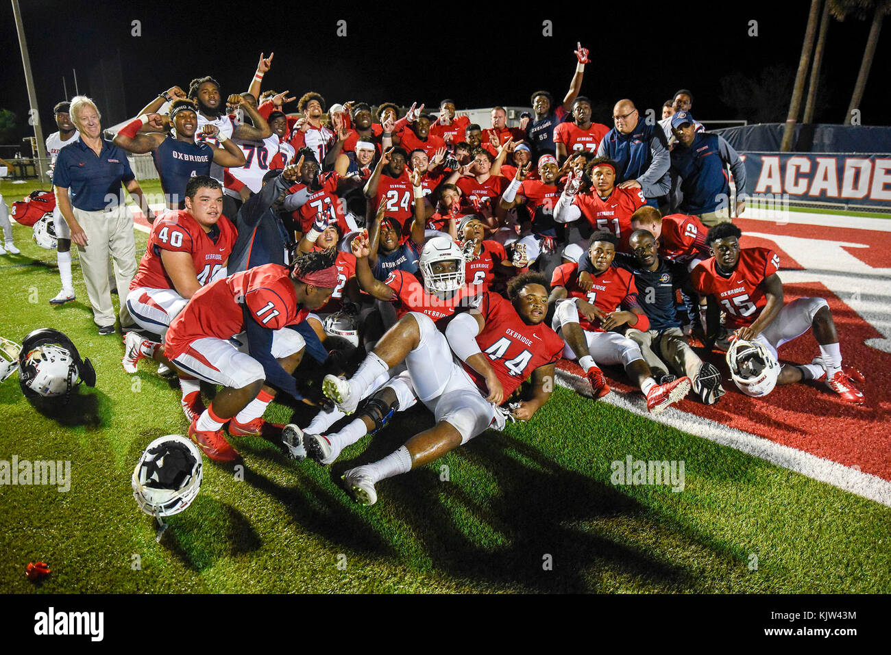 Celebrate At The End Of The Game Stock Photos & Celebrate At