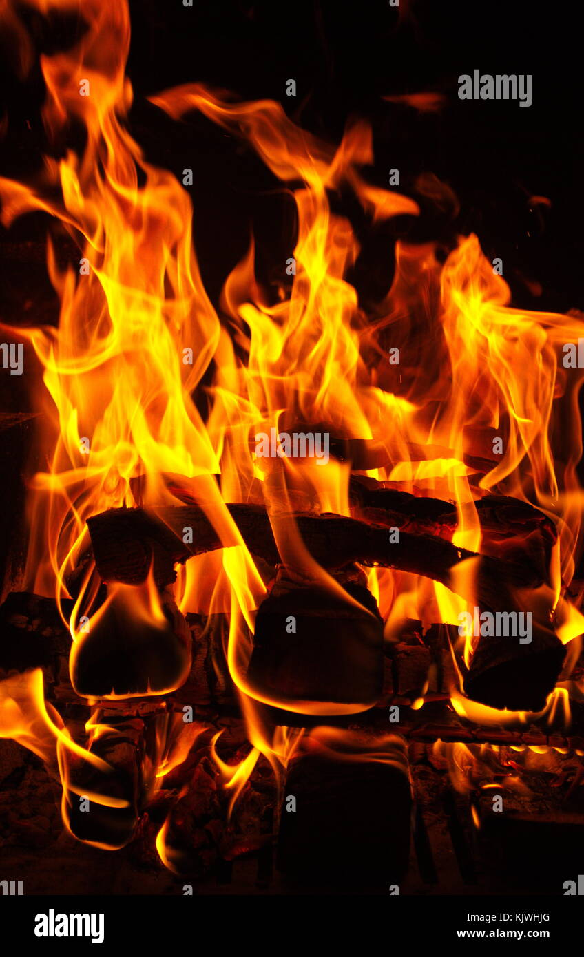 Feuer fire - Stock Image