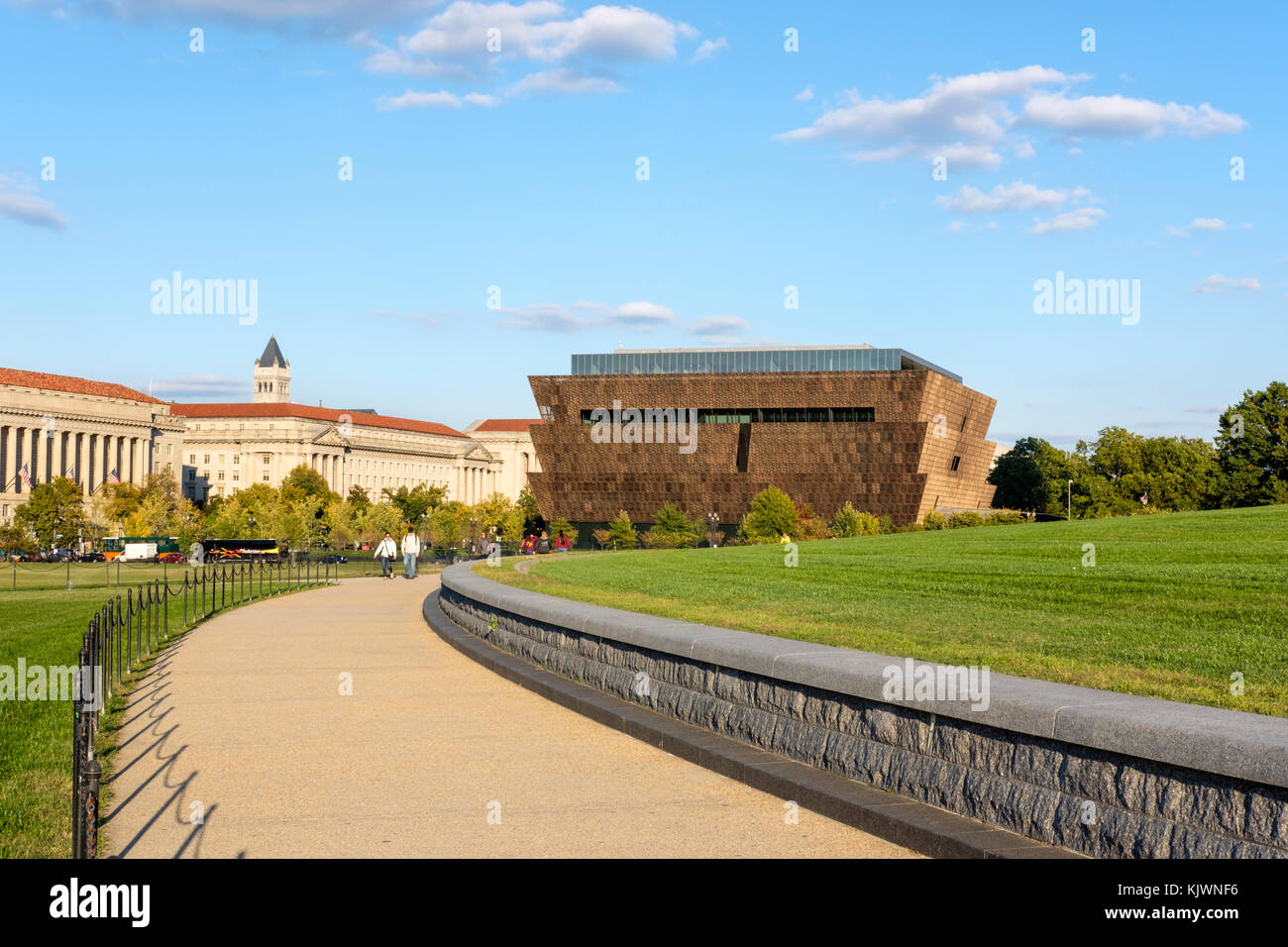 Smithsonian National Museum of African American History and Culture, Washington, D.C., USA. - Stock Image