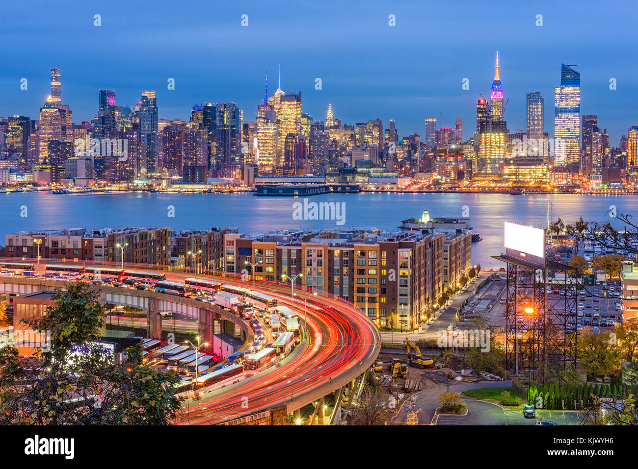 New York, New York, USA cityscape in Manhattan. - Stock Image