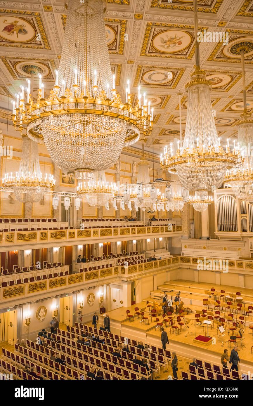 The decorative ceiling of the Konzerthaus (concert hall auditorium Stock Photo - Alamy