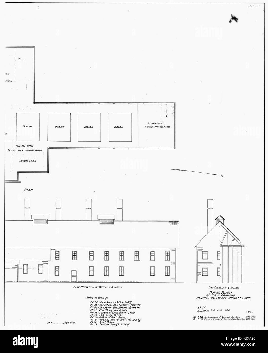 Kennecott Copper Black And White Stock Photos Images Alamy Diesel Power Plant Diagram Photocopy Of Drawing General Addition For Installation
