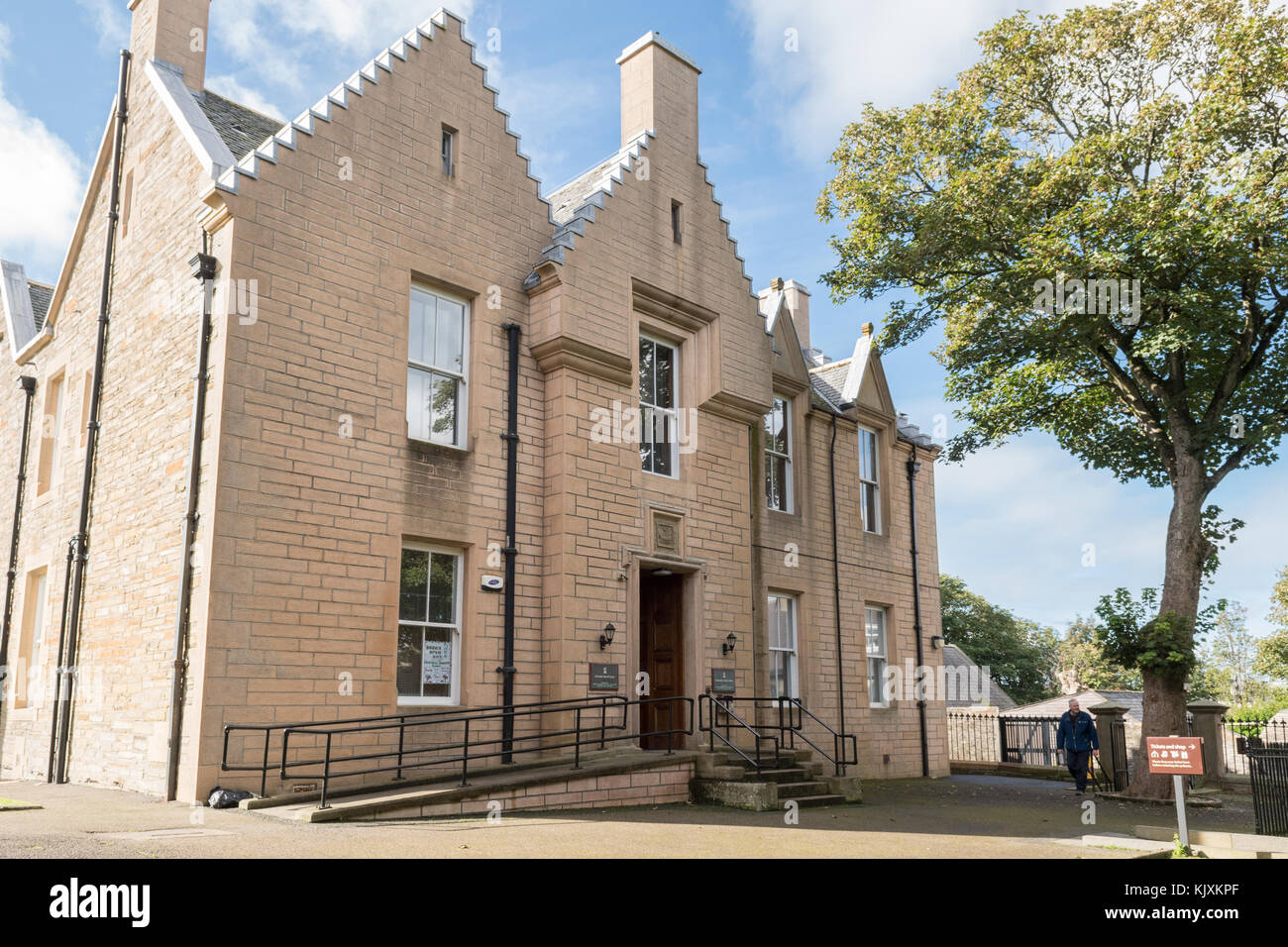Kirkwall Sheriff Court, Orkney, Scotland, UK - Stock Image