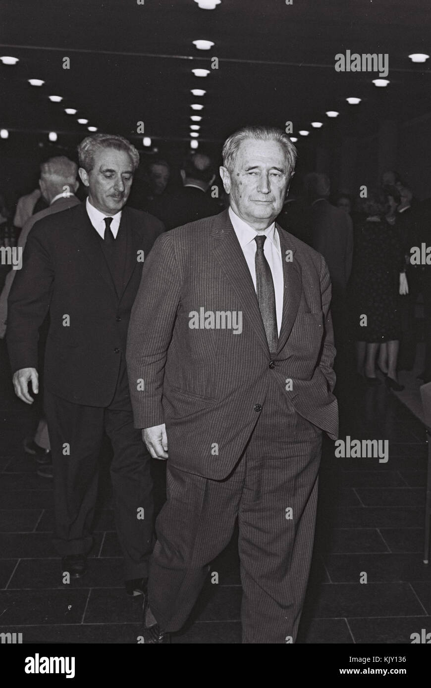 Nahum Goldmann 1964 - Stock Image