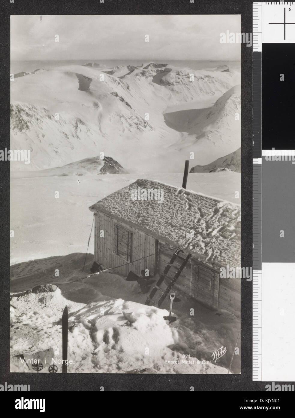 371. Vinter i Norge   no nb digifoto 20150126 00006 blds 07168 - Stock Image