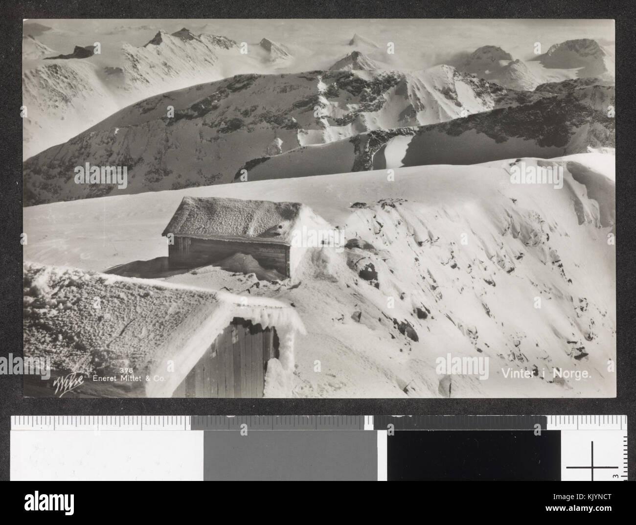 378. Vinter i Norge   no nb digifoto 20150116 00196 blds 07184 - Stock Image