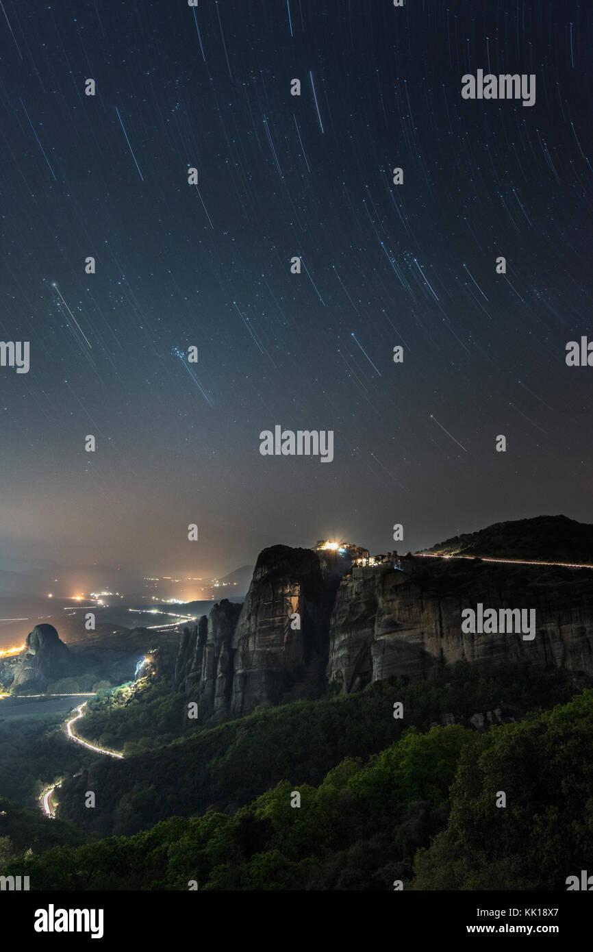 Meteora Monasteries, Northern Greece - Stock Image